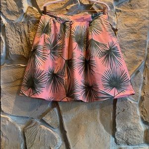 A New Day soft salmon color floral skirt